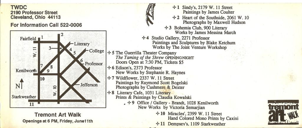 June 1993 back of card